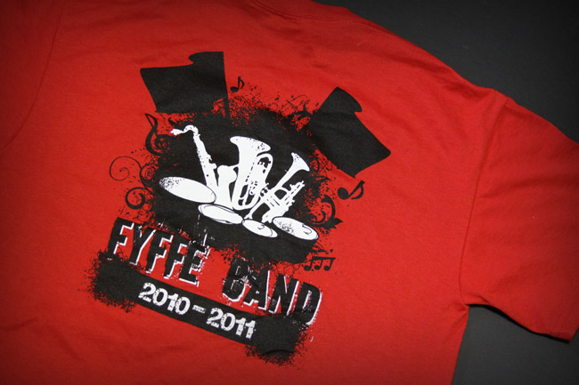 Fyffe Band t-shirt back